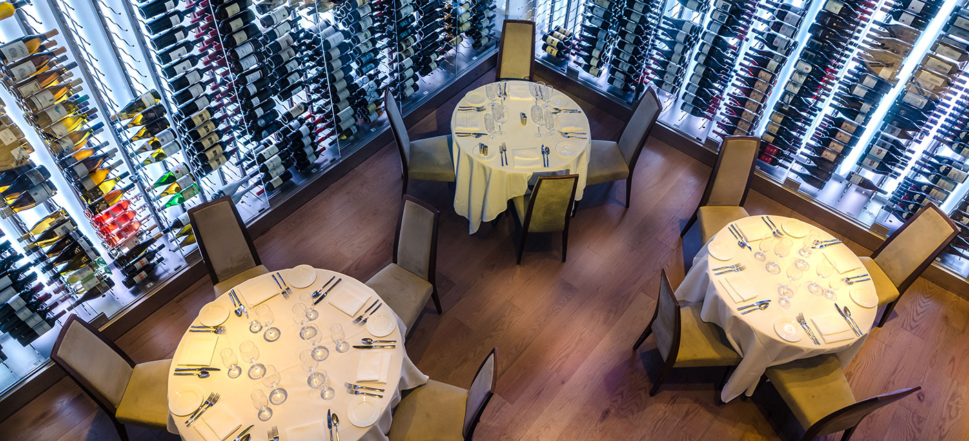 Valbella Restaurant Midtown Wine Room
